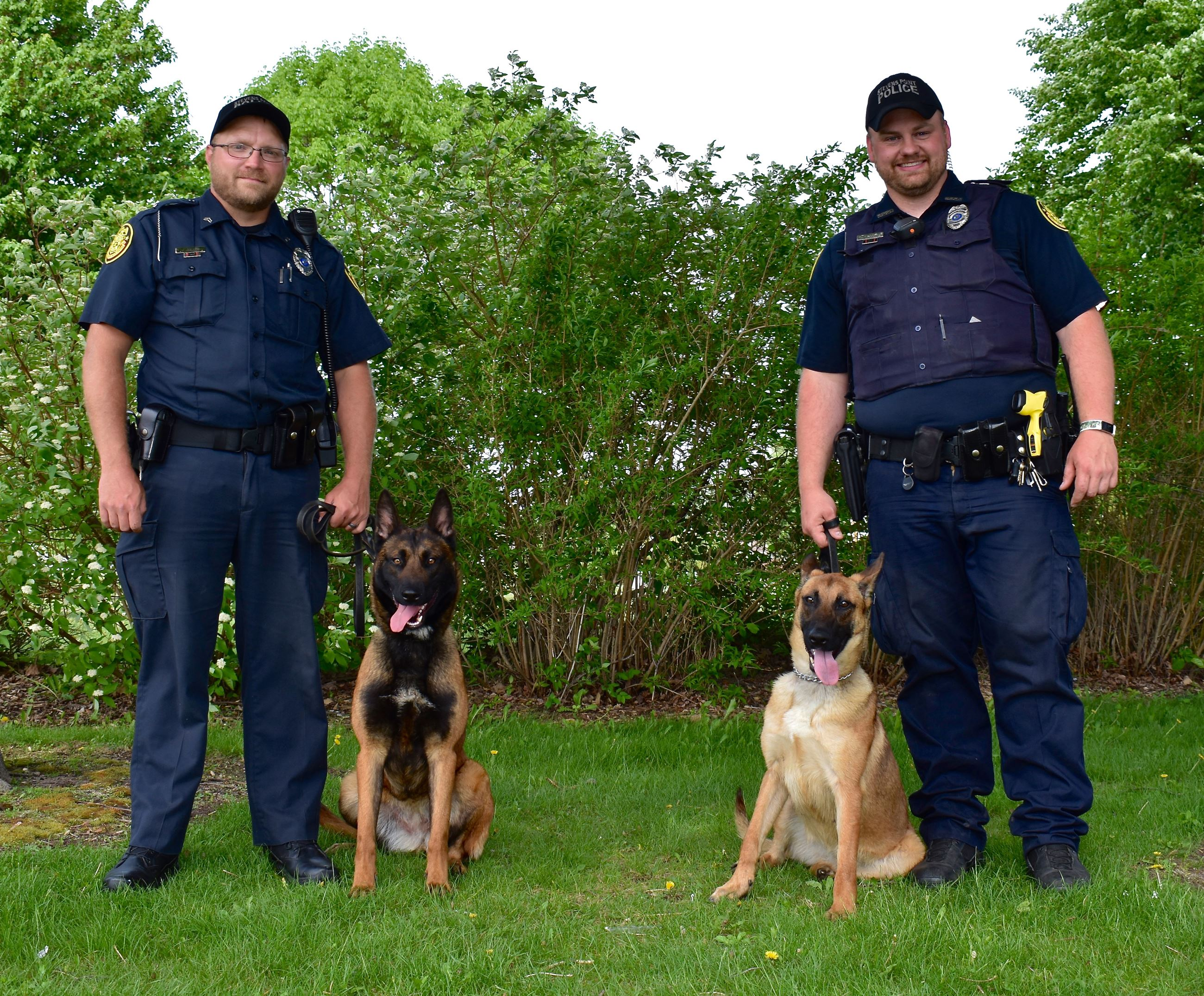 K-9 Officers and their handlers