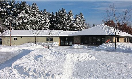 Iverson Lodge in Winter