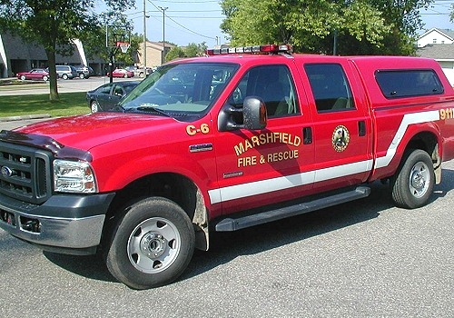 Marshfield Fire Department's Car 6
