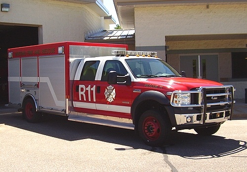 Village of Whiting Fire Department's Rescue 11